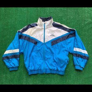 Vintage 80s Jimmy Connors Windbreaker Track Jacket